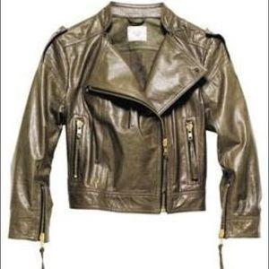 Mathew Williamson for H&M Cropped LeatherJacket